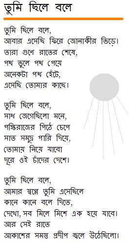 tumi-chhile-bole